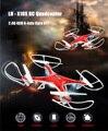 Profesional CALIENTE LH-X10S 2.4G 4CH 6-Axis Drone RC Dron Quadcopter RC 360 Eversión Gyro RTF Helicóptero de Control Remoto juguete