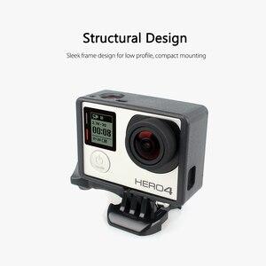 Image 4 - Vamson for Go pro Accessories Standard Protective Plus Frame Tripod Mount Base Screw for GoPro Hero 4 3+ 3 Camera VP613