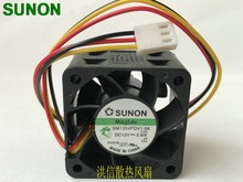 Sunon GM1204PQV1-8A 12 V 2,8 Watt 4 CM 4028 3-line 1U 2U server fan 9200 rpm 14CFM(China)