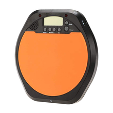 HOT Digital Electric Electronic Drummer Training Practice Drum Pad Metronome with Earphone & Batteries