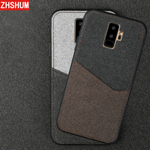 Luxury Cloth Jeans Card Pocket Case For Samsung Galaxy S9 Plus S8 S7 Edge Note 8 Soft Case 360 Full Back Cover for Galaxy S 9 7