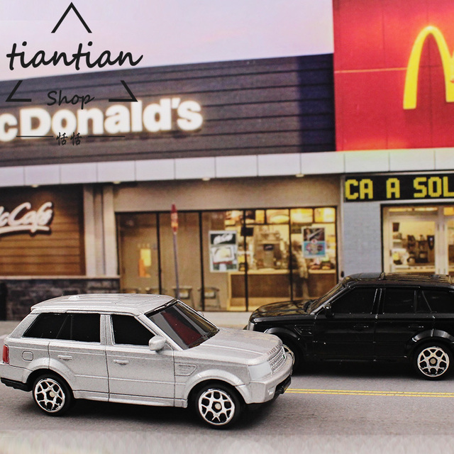 1:64 Alloy car model kids toys SUV Land Rove Children\'s toys ...