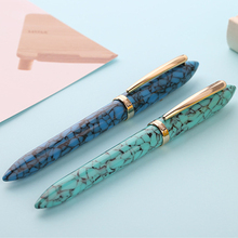 Marbling Fountain Pen Office School Students Smooth Writing Portable Refillable Fine Nib Gift Acrylic Resin 0.38/ 0.5mm цена 2017