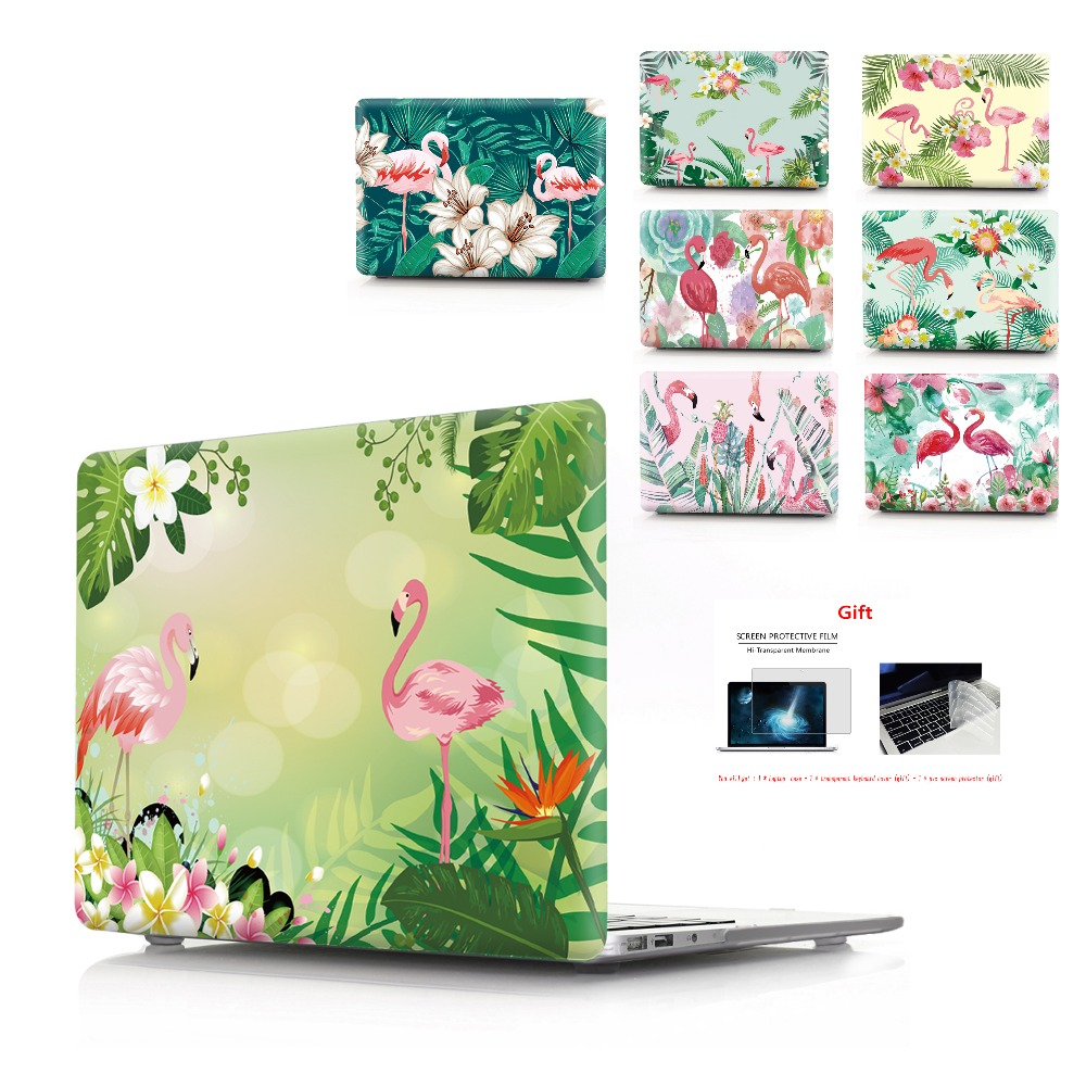 Color printing Flaming Laptop Case For MacBook Air Retina Pro 11 12 13 15 For MacBook with Touch Bar New Air 13 New Pro 13 15 in Laptop Bags Cases from Computer Office