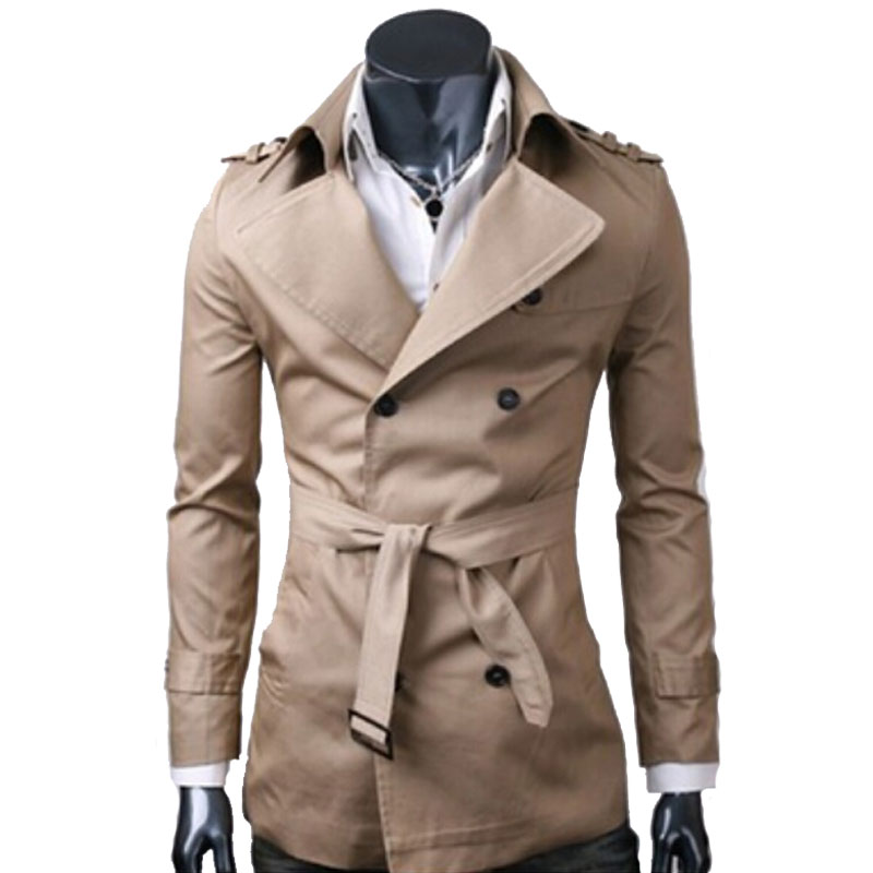 Online Buy Wholesale short trench men from China short trench men