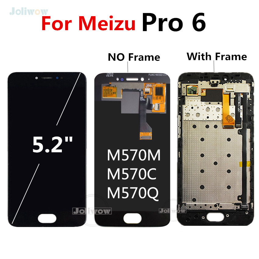 For Meizu Pro 6 LCD Display with Touch Screen Digitizer Replacement For Meizu Pro 6 Pro6 LCD With Frame M570M M570C M570Q M570H For Meizu Pro 6 LCD Display with Touch Screen Digitizer Replacement For Meizu Pro 6 Pro6 LCD With Frame M570M M570C M570Q M570H