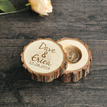 Personalized Ring Box,Rustic Wedding Wood Ring Boxes,Ring Bearer Box,Engagement Ring Holder