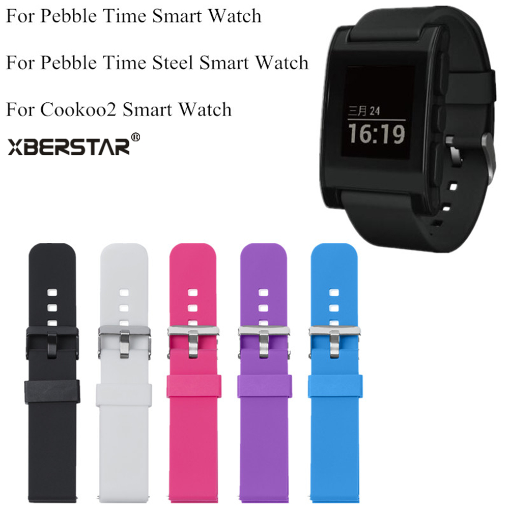 Watchbands Gear Smart-Watch-Strap SM-R382 Samsung Sports Silicone Galax for Time-Steel/cookoo2