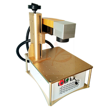 all in one FB20 optical fiber laser marking machine 20W with built-in PC system 3axis or 4axis