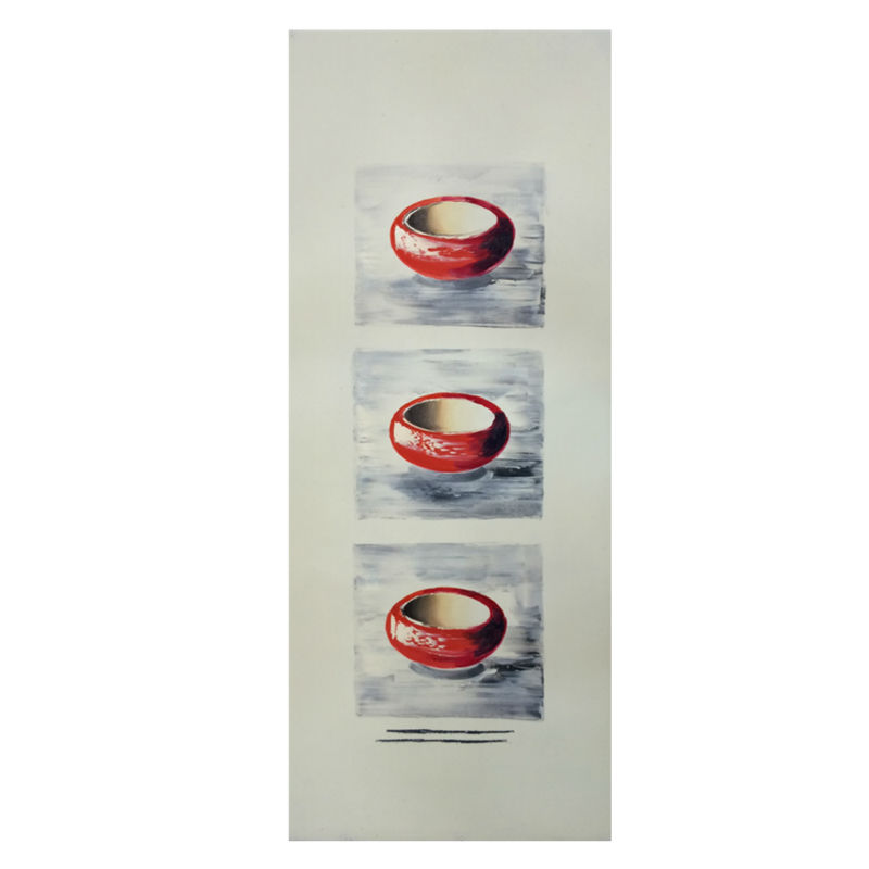 Paintings Canvas Hand painted Modern Wall Art Picture <font><b>Home</b></font> <font><b>Decoration</b></font> Southeast <font><b>Asian</b></font> style Abstrac Oil Painting 35x100cm