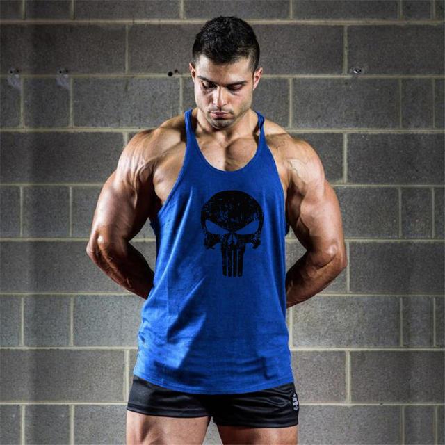 Gyms Training Sleeveless Shirt Fitness Clothing