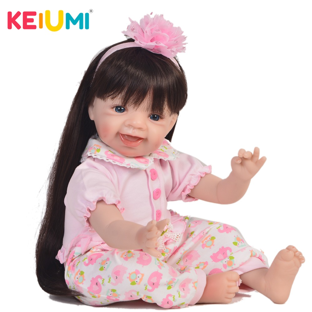 Lovely 22 Inch Reborn Doll Soft Silicone 55 cm Realistic Princess Baby Doll For Wholesale Kids Christmas Gift Bedtime Play ToyLovely 22 Inch Reborn Doll Soft Silicone 55 cm Realistic Princess Baby Doll For Wholesale Kids Christmas Gift Bedtime Play Toy