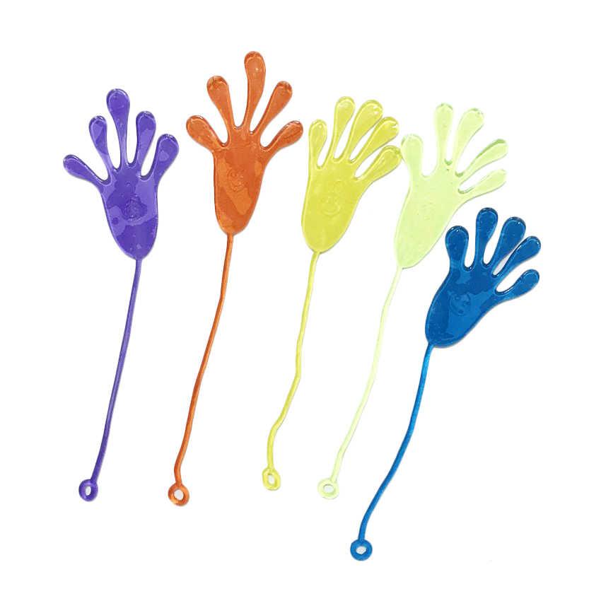 10 pcs Sticky Mãos Tapa Mole Toy Play Enchimentos Pinata Saco do Deleite de Favores e Presentes Do Casamento Favores Do Partido Presente de Aniversário suprimentos