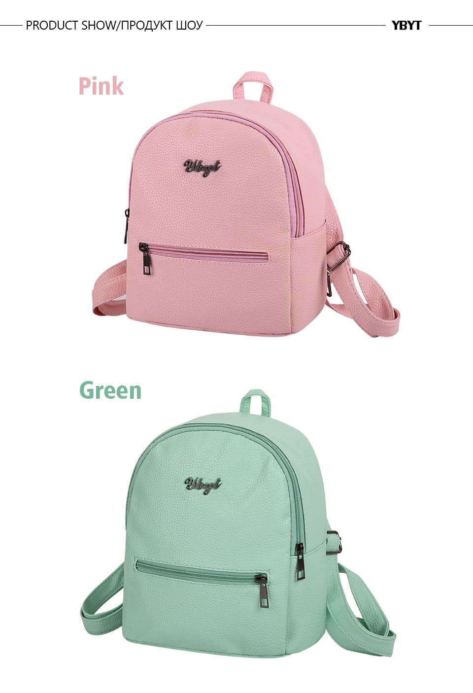 HTB1DQbaXzgy uJjSZR0q6yK5pXaz YBYT brand 2018 new preppy style solid women kawaii rucksack simple lychee pattern ladies travel bag student school backpacks