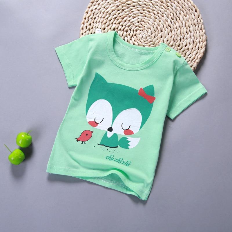 [Unini-yun]2017Brand Boys T Shirt Cartoon Tops Tee Kids Tops Designer Toddler Baby Boys T Shirt Cotton Short Sleeve Children top стоимость