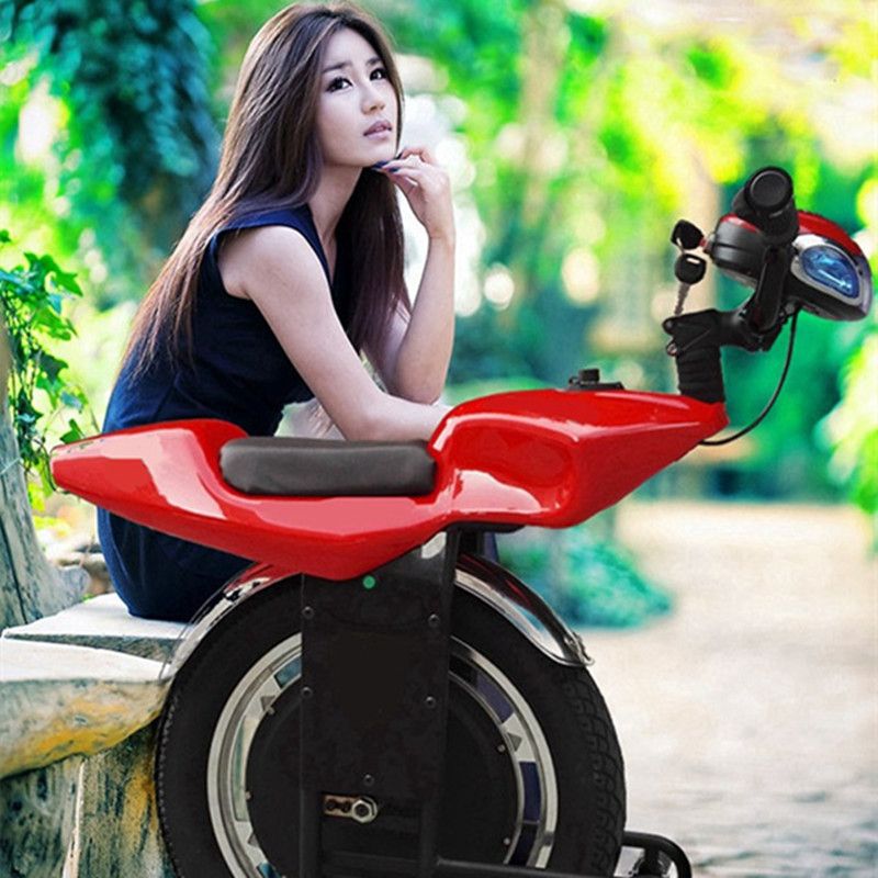 Newest Cool One Wheel Electric Gig Motorcycle Scooter Big Gig Tire One Wheel Eco Electric Balance Motor Scooter For Sale
