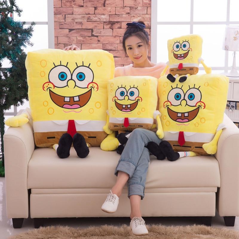Hot Sponge Bob Kids Soft Knuffels Knuffels Baby kussen Animal Cartoon - Poppen en knuffels - Foto 3