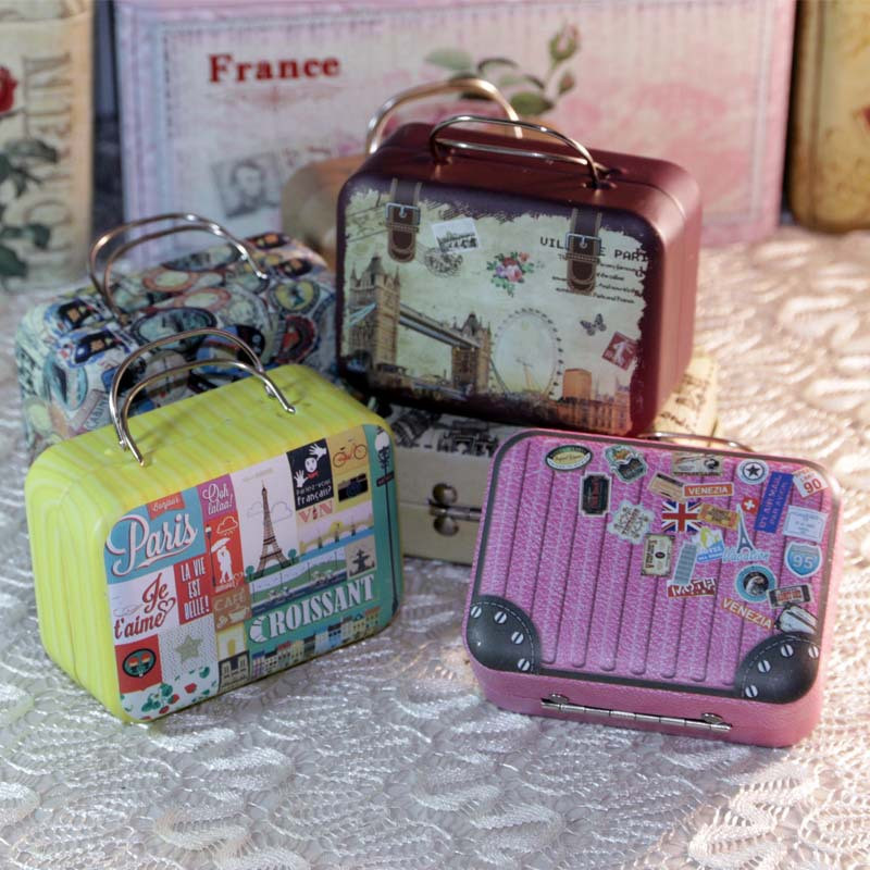 Mini Gift Jewelry BoxCandy Chocolate Storage Boxes Make Up