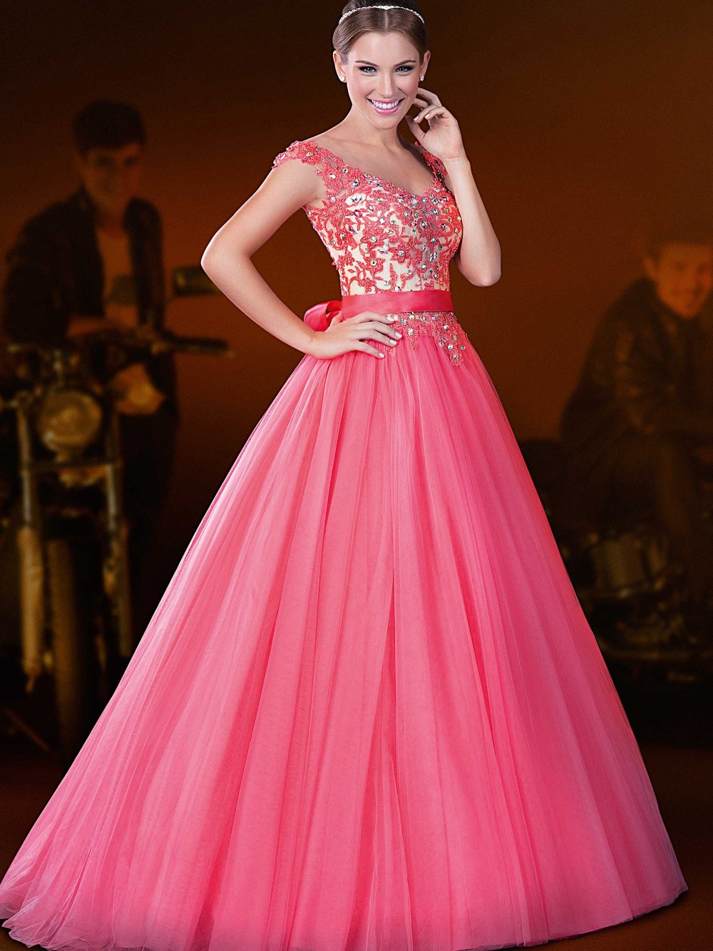 sexy unbelievable pink prom dresses from san diego california ...