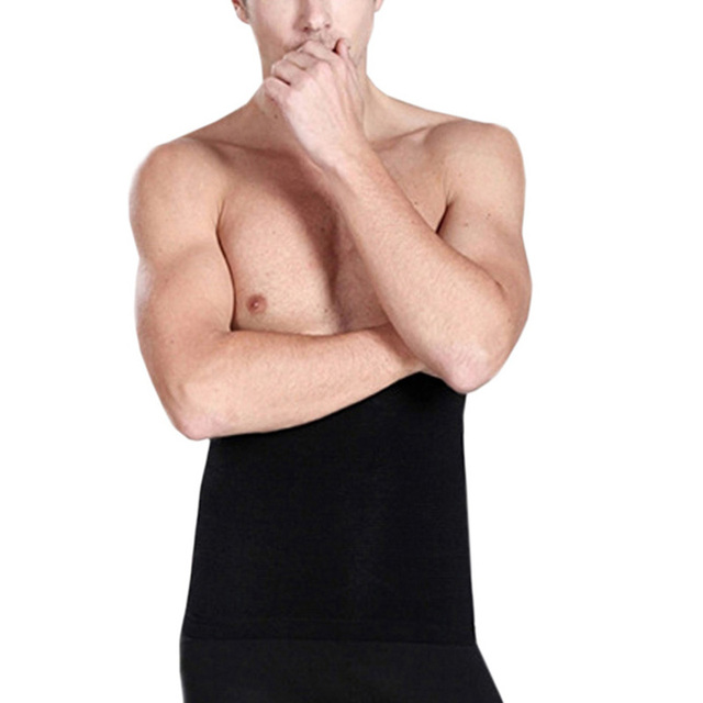Male Waist Trimmer Body Shaper Tummy Control Stomach Girdle Tuck Belt Weight Loss Corset Belly Reducer Men Shapers 2