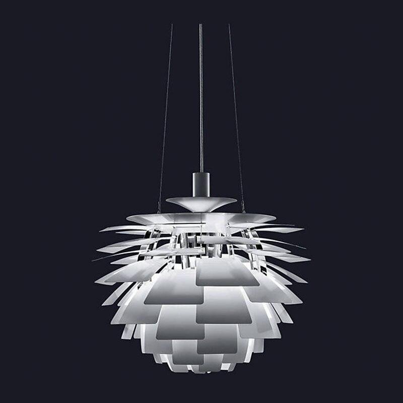 Kostenloser Versand Moderne Pendelleuchte Aluminium Blätter Weiß Malerei  D38cm Designer Beleuchtung Für Esszimmer PH Lampe In Kostenloser Versand  Moderne ...