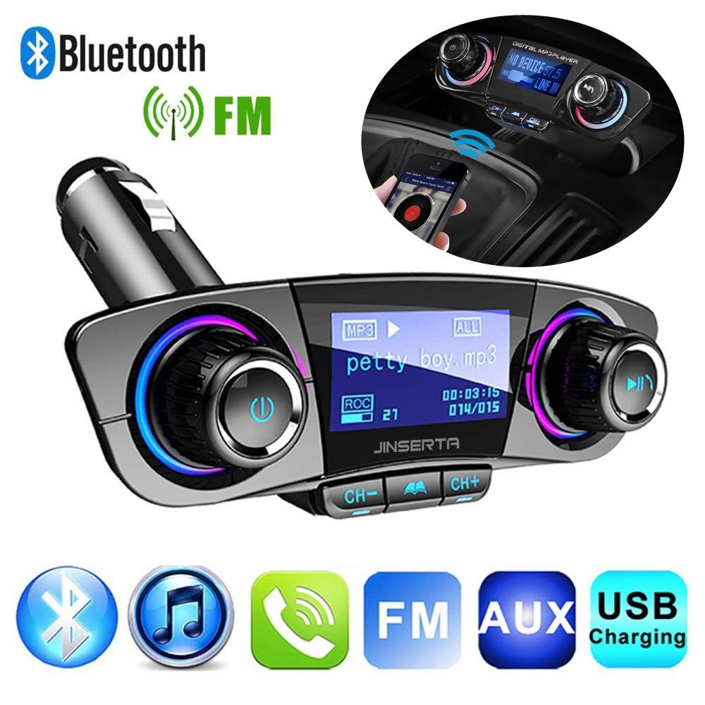 2019 New USB Charger Wireless In-Car Bluetooth Transmitter MP3 Radio Adapter Car Kit usb