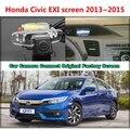 Para honda civic exi pantalla 2013 2014 2015 coche cámara conectada pantalla original de pantalla y cámara de vista trasera del coche original
