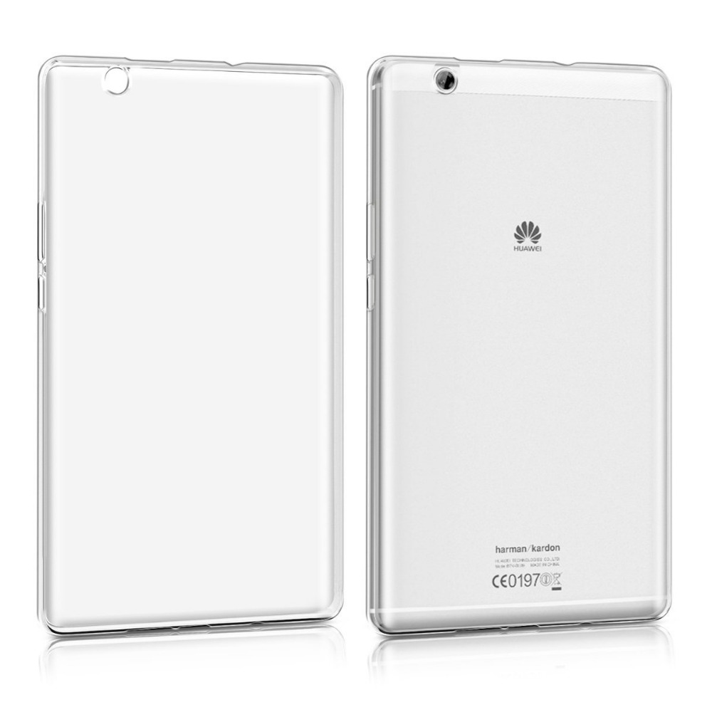 Crystal Case for Huawei MediaPad M3 8.4 TPU Silicone Case Protective Cover in transparent mediapad m3 lite 8 0 skin ultra slim cartoon stand pu leather case cover for huawei mediapad m3 lite 8 0 cpn w09 cpn al00 8