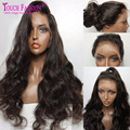 Glueless Full Lace Wigs With Baby Hair Loose Body Wave Lace Front Human Hair Wigs For Black Women Virgin Brazilian U Part Wigs