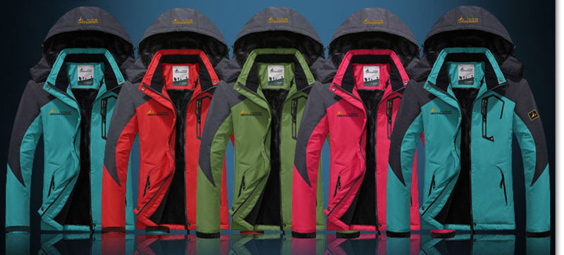 Women's Softshell Jacket Ski Suit Hiking Down Coats Waterproof Snow Snowboard Clothes Skiing Fishing Costume Female Sportswear (5)