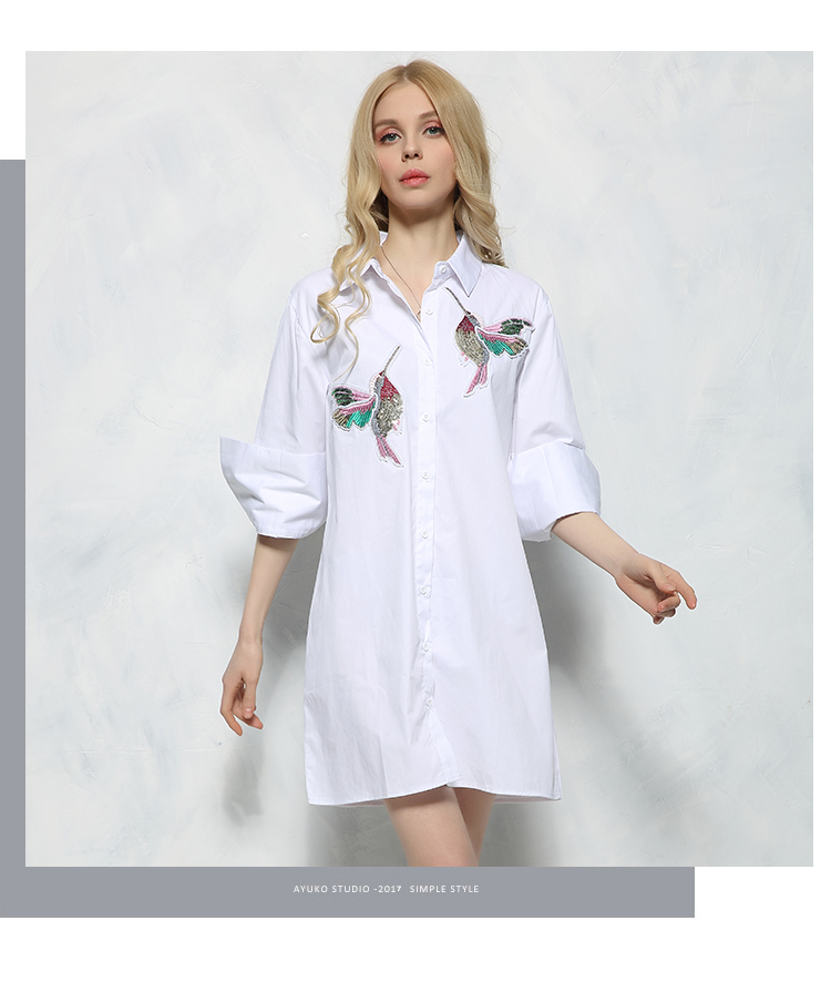 HTB1DQd0SXXXXXcMXFXXq6xXFXXXG - New arrival 2017 Women Bird Embroidered Blouse Shirts fashion Long sleeve