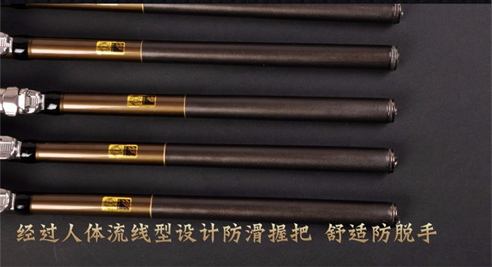 17 The latest design of fishing rod Stream Hand Carbon Fiber Casting Telescopic Lightweight toughness Fishing Rods 5