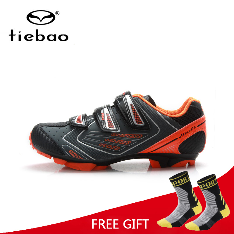 Tiebao Professional Bicycle Cycling Shoes Bike Racing Athletic Shoes Breathable MTB Self-locking Shoes zapatillas ciclismo tiebao professional men bicycle shoes athletic racing mtb cycling bike mountain self locking shoes zapatillas ciclismo