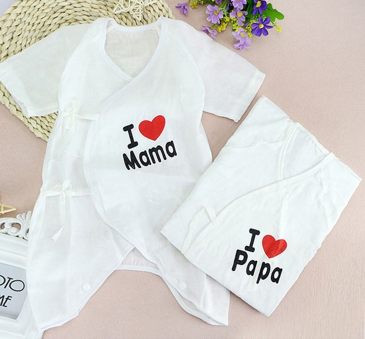 2017 Newborn baby 2PCS/LOT  Baby Rompers Short Sleeve Cottom O-Neck 0-3M Novel New born Boys&Girls Roupas Baby Boy Girl Clothes wilbur smith monsoon