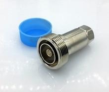 L29 DIN разъем типа 7/16 DIN тип Гнездовой разъем для 1/2 S 50-9 винтовой гофра питающий кабель