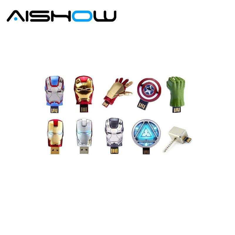 2018 the avengers usb flash drive 4g iron man 8g pen drive. Black Bedroom Furniture Sets. Home Design Ideas