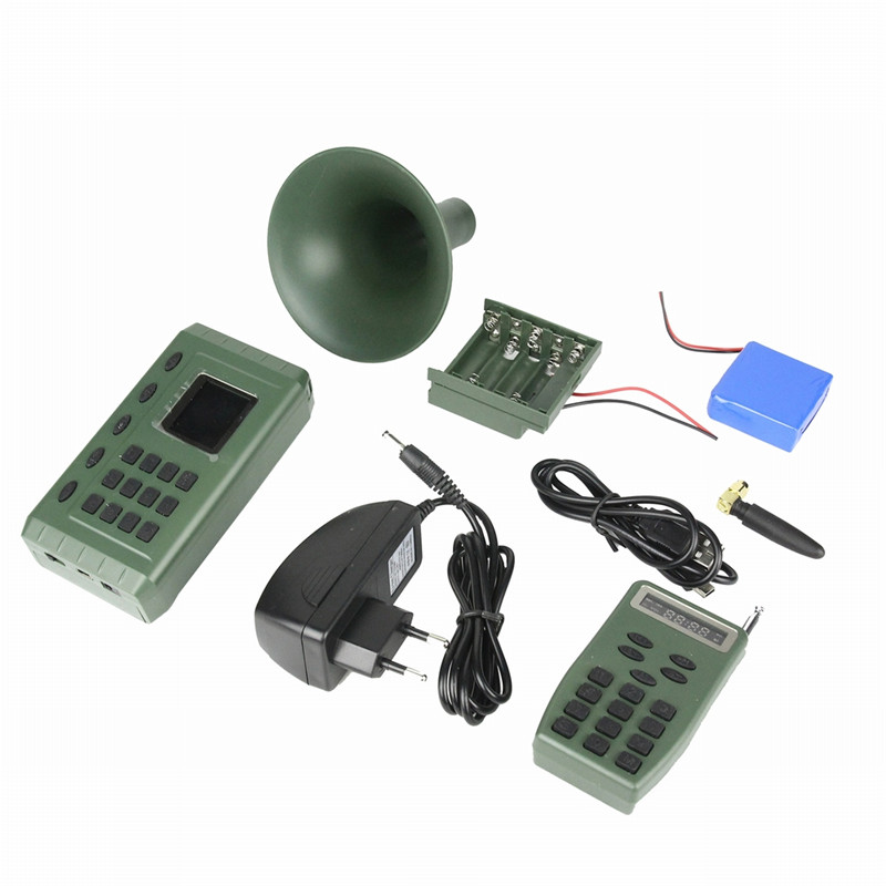 Hunting Decoy Bird Caller Birds Sound Loudspeaker Electronics Built-in Mp3 Player with Remote Control Timer Playing Loudspeaker hunting call mp3 player hunting call 50w with timer decoy with remote control turkey decoy