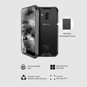 Image 2 - Blackview BV9600 Pro Originele IP68 Waterdichte Robuuste Smartphone 6GB 128GB Android 8.1 19:9 FHD AMOLED 4G outdoor Mobiele Telefoon