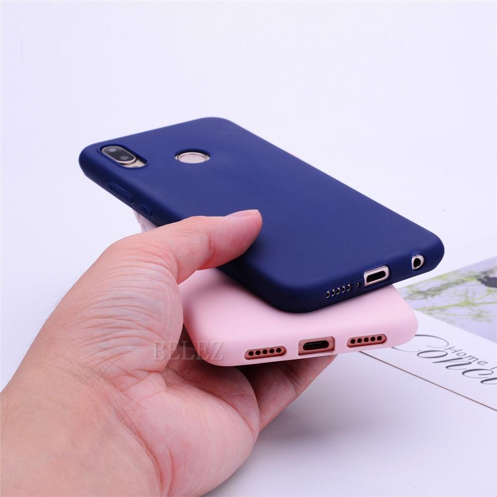 Soft TPU Candy Color Phone Case For Huawei P30 P20 Mate 20 Pro Lite P Smart Nova 4 Honor 8C 8X Max 7A 7C Y5 Y6 2018 Y9 2019 Case _09