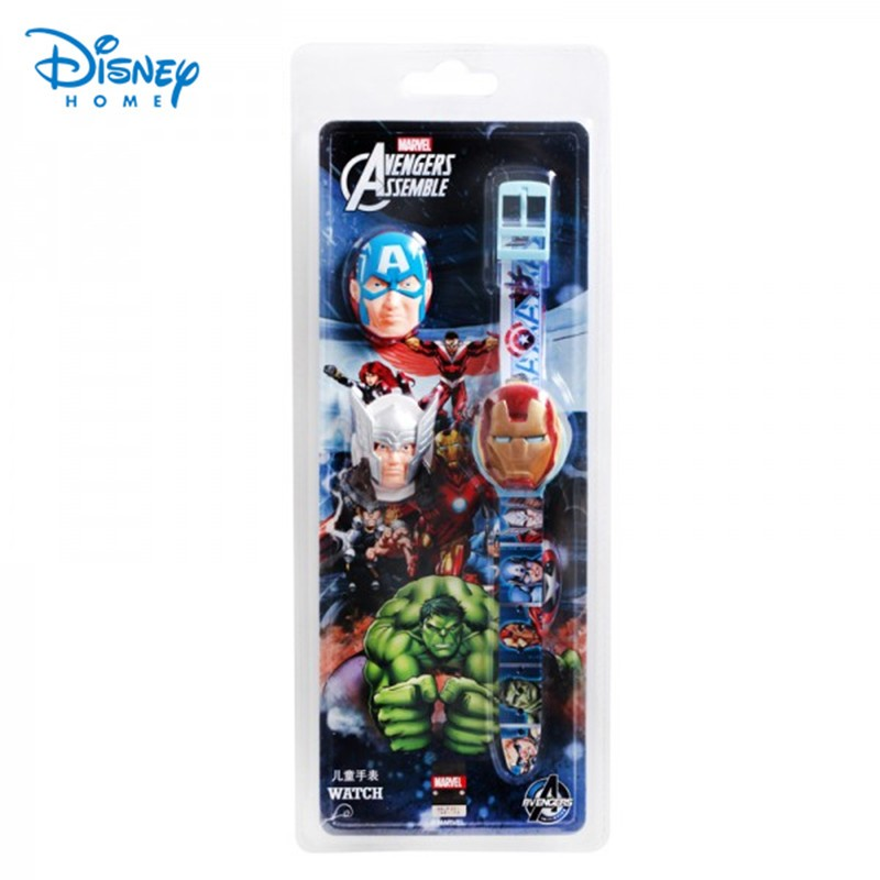 100-Genuine-Disney-boys-Brand-Watch-Iron-man-Captain-America-sports-Watches-AVENGERS-ASSEMBLE-digital-watch
