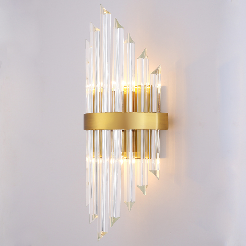 Modern Up Down Light Wall Sconce Bedroom Wall LED Lamp Corridor Entrance Lobby Crystal Wall Lamps Indoor Home LightingModern Up Down Light Wall Sconce Bedroom Wall LED Lamp Corridor Entrance Lobby Crystal Wall Lamps Indoor Home Lighting