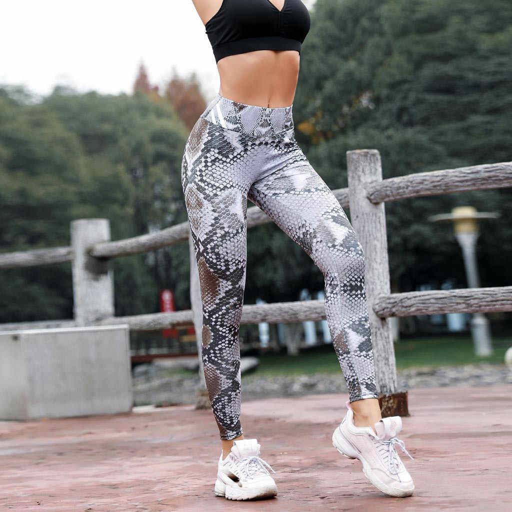 Sexy Patchwork Mulheres De Fitness Gym Workout Calças Femme Malha E PU de Retalhos de Couro Leggings