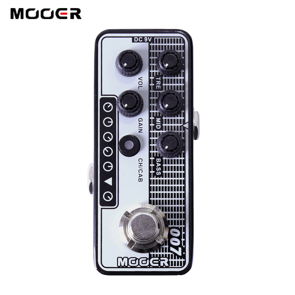 Mooer 007 Regal Tone High quality dual channel preamp 2 different modes for footswitch operation guitar effect guitar цена