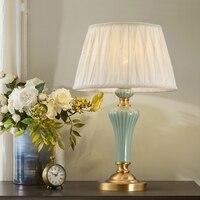 Современная светодиодная настольная лампы спальня ночники гостиная исследование ткань книги по искусству Tafellamp Лампе де шевет де Chambre дома