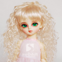 wig for BJD 1/3,1/4,1/6,1/8 Scale,BJD wig for doll.A15A805.Wig accessories not included.Doll and Apparel not included