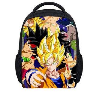 aliexpresscom buy hot children mini school bags for kindergarten baby anime dragon ball z schoolbag super saiyan goku backpack cartoon book bag from