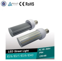 E27/E40 55W LED street Light led parking lot light l30LM/W IP64 220 degree Samsung 5630 leds 3 years warranty