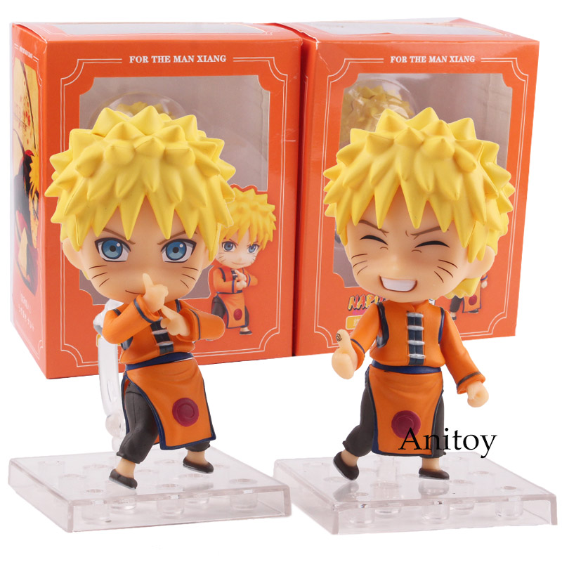 Naruto Shippuden Toys Uzumaki Naruto Figure Q Version PVC Action Figures Collectible Model Toys 2pcs/set