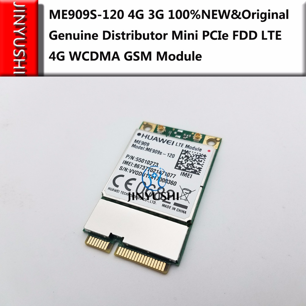 JINYUSHI For ME909S-120 MINI PCIE 4G 100% NEW&Original Genuine Distributor FDD LTE 4G WCDMA  GSM  Support GPS Module