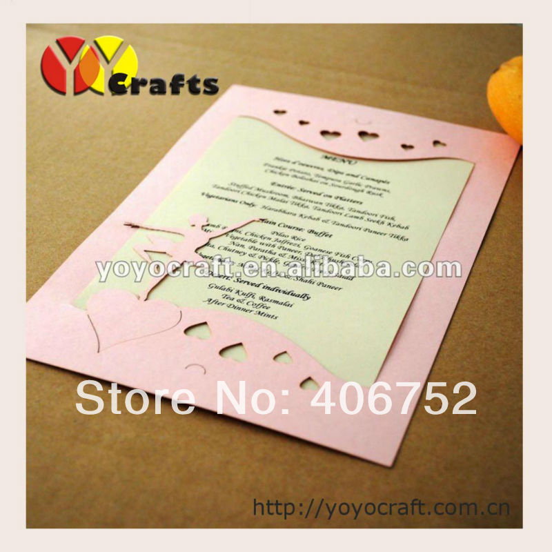 Us 37 0 New Design Customized Beautiful Elegant Wedding Invitation Card Birthday Invitation Card With Envelope And Insert In Event Party From Home